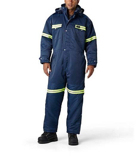 thompson insulated coverall with ref tape f3840 mark s