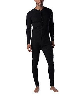 WindRiver Men's Thermal Stretch Waffle Combo