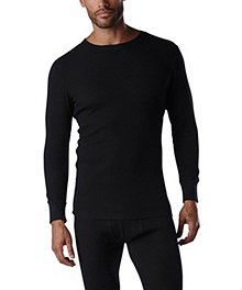 WindRiver Men's Thermal Stretch Waffle Top