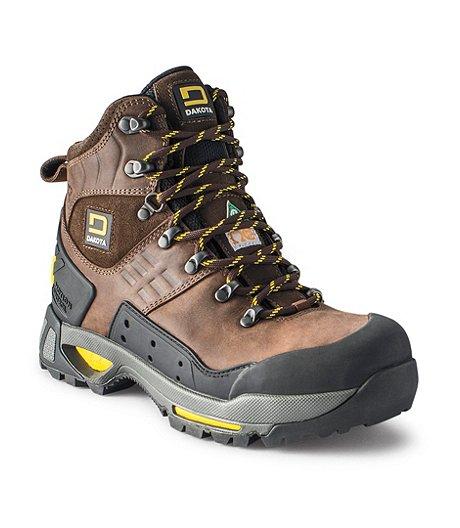 8ee23a4d117 Men's Dakota Steel Toe Composite Plate Waterproof Work Boots