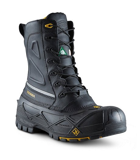 b36b7bdd692 Men's Crossbow Composite Toe Composite Plate Winter Transitional Work Boots