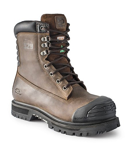 6d8303c79e8 Men's 8'' 529 Steel Toe Steel Plate Injected Welt Work Boots