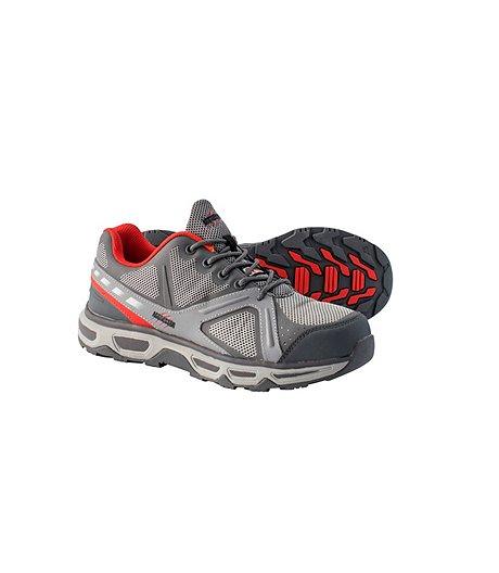 Men's Low-Cut Steel Toe Steel Plate Athletic Shoes | Mark's