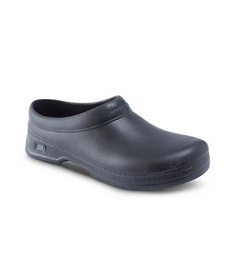 6fbc08b5b51 Skechers Work Men's Oswald Balder Slip-Resistant Clogs