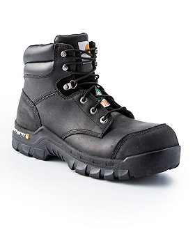 Carhartt Men's 6 In Leather Flex Composite Toe Composite Plate Work Boots