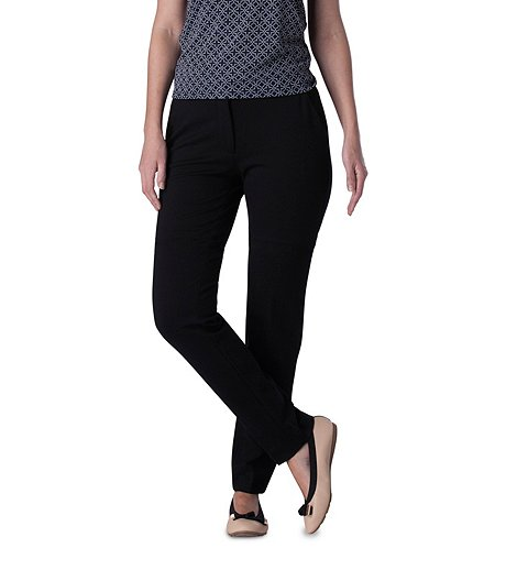 e10c7d2dd020a Sung Alfred Sung Women's Slim Straight Trousers