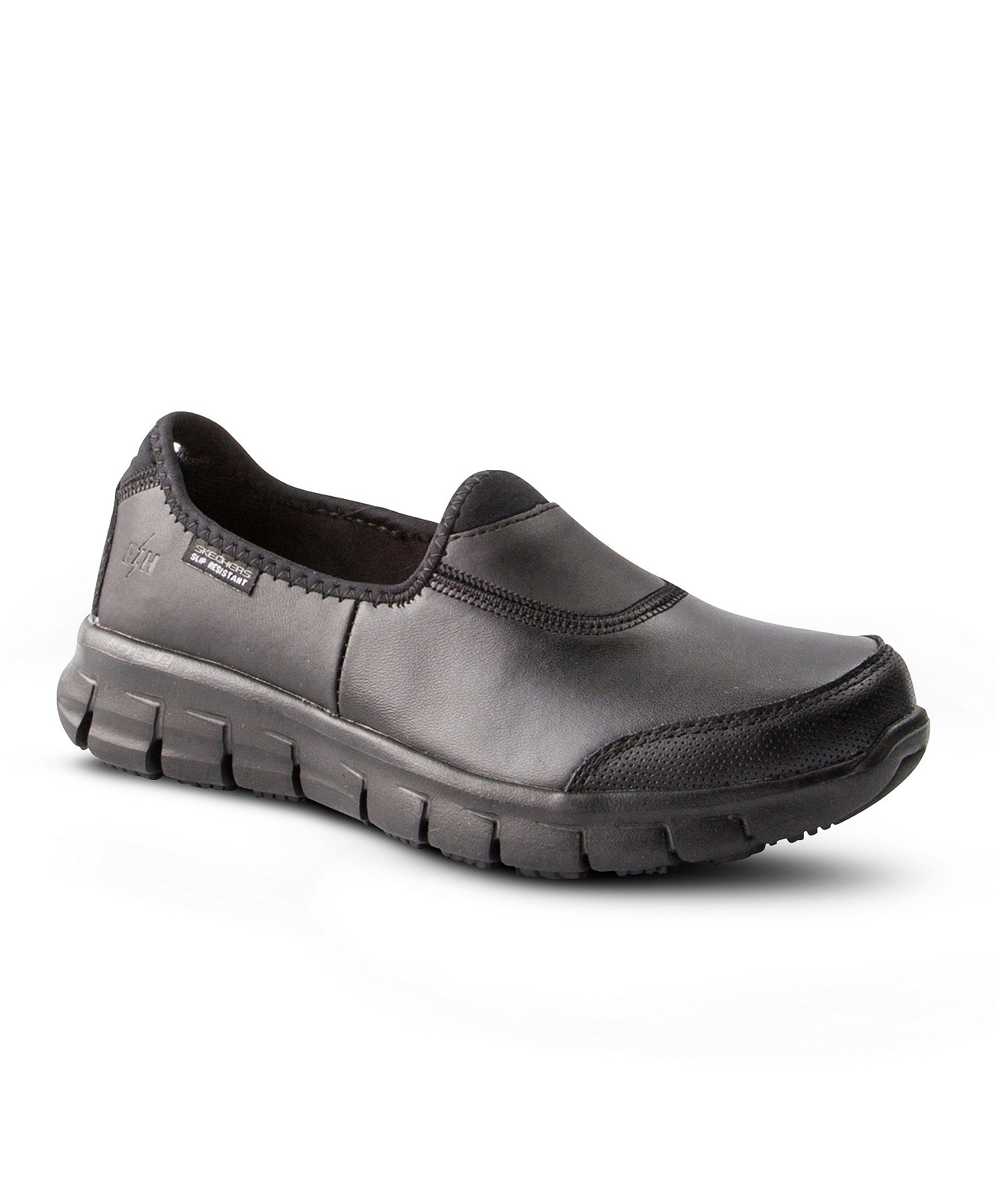 Women's Sure Track Non Safety Slip Resistant Slip On Shoes