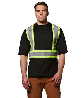 Dakota Men's Short-Sleeve Lined Hi-Vis T-Shirt