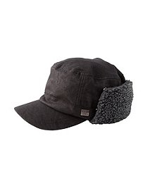 b1c6fe79c7dde0 WindRiver Faux Leather Cap WindRiver Faux Leather Cap CLEARANCE. Black