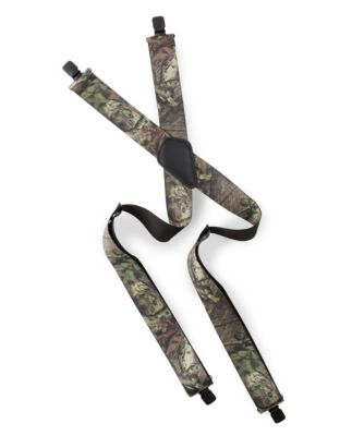 Men's Denver Hayes Camo Suspenders Mossy Oak One Size