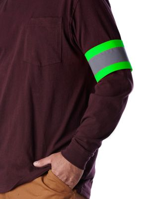 Men's Dakota Velcro Safety Band Green One Size