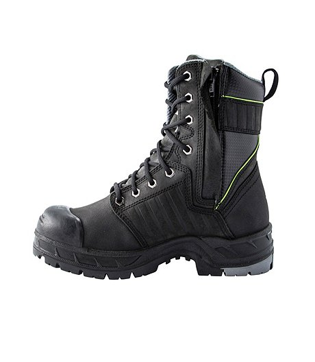 e82fa86d7a4 Women's 8 Inch Quad Basic Steel Toe Composite Plate Int Met Work Boots