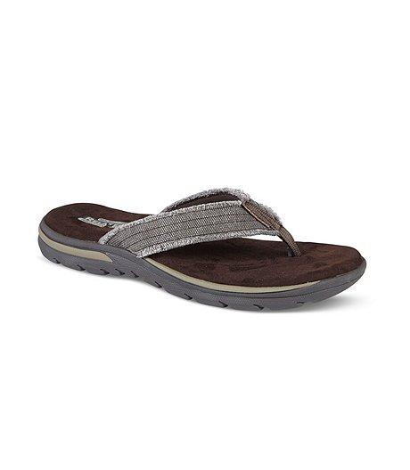 9dca47039742 Skechers Men s Supreme Bosnia Thong Sandals
