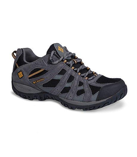 7b972788620 Columbia Men s Redmond Waterproof Low-Cut Hiking Shoe - Wide 4E