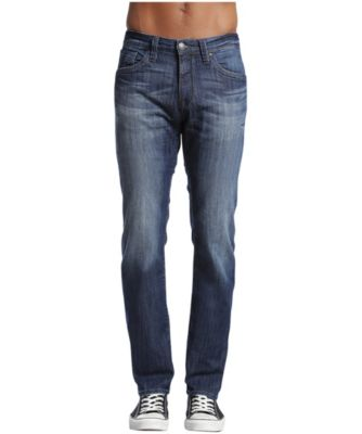 Men's Mavi Zach Straight Leg Dark Maui Jeans Medium Wash 32