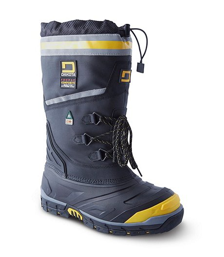 0564fe4dac3 Men's Rigmaster Syntrol Composite Toe Composite Plate Felt Pack Winter Work  Boots
