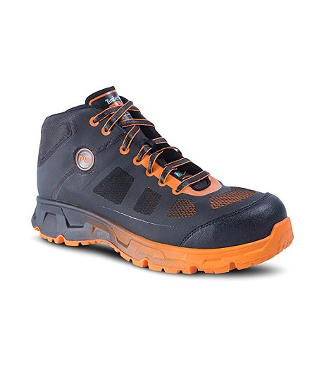 72c1aa3de5fb Timberland PRO Men s Mid-Cut Velocity Aluminium Toe Composite Plate  Athletic Safety Shoes