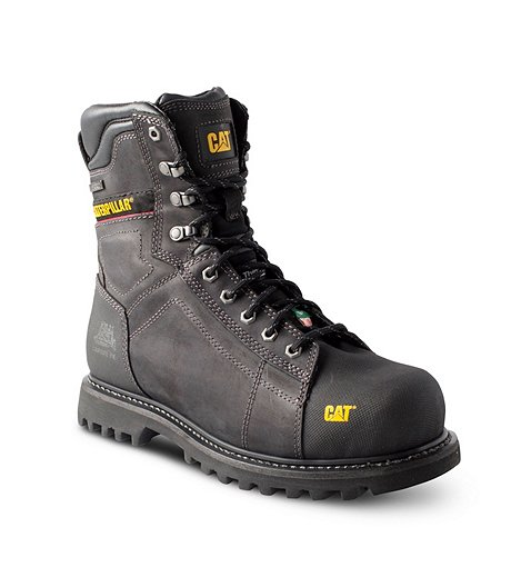Men's 8 In Control Composite Toe, Composite Plate Waterproof Work Boots