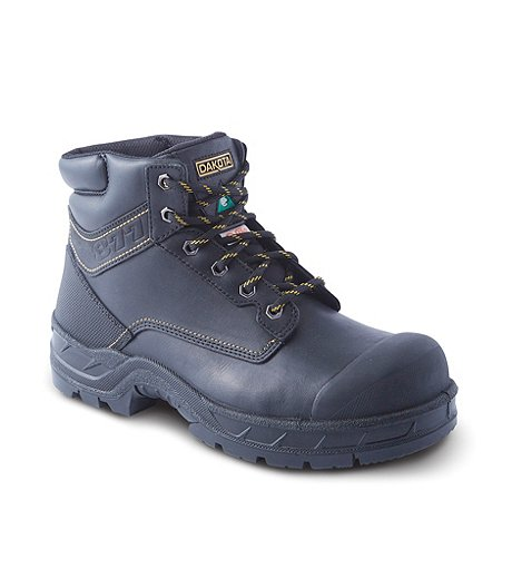 05f5f221230 Men's 6'' 877 Steel Toe Steel Plate Work Boots