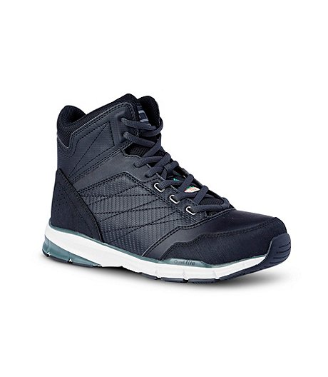 68ce9ae146e Men's Mid Cut Quad Lite Steel Toe Steel Plate Athletic Shoes
