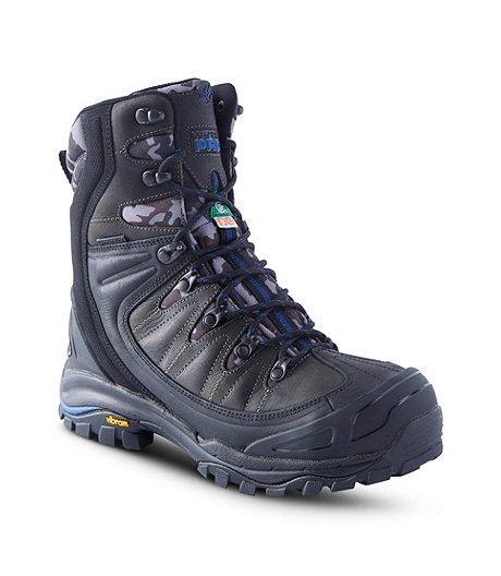 9af167c31a9 Men's 8'' Waterproof Vibram Composite Toe Composite Plate Work Boots