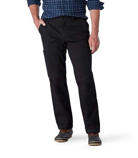 8f5af9074f WindRiver Men's Lined T-MAX Heat Cargo Pants