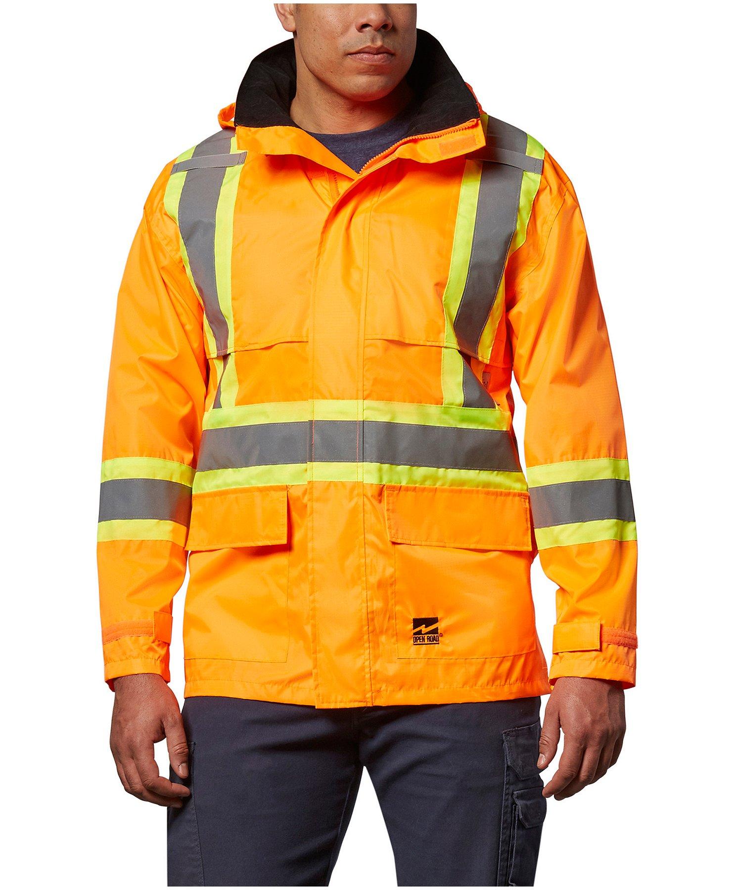 Viking Open Road 150D Hi-Vis Waterproof Rain Jacket