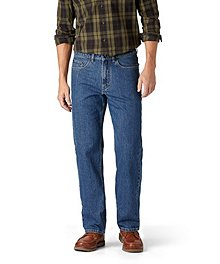 1b3b5bcebe4 Denver Hayes Relaxed Tapered Leg Stretch Jeans ...