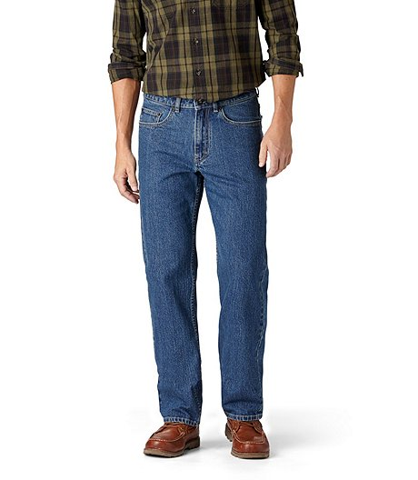e22393610df Denver Hayes Men's FLEXTECH Relaxed Tapered Leg Stretch Jeans