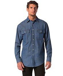 c5ddd73f43 Dakota Men s Snap Front Denim Work Shirt ...