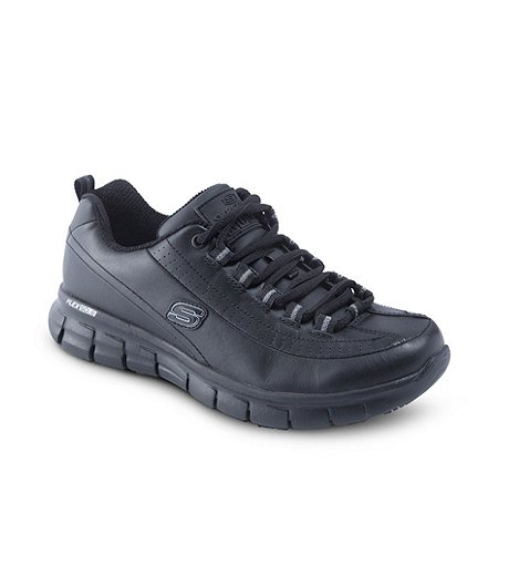 ea3b9a063227d6 Skechers Work Women's Sure Track Trickel Slip Resistant Shoes ...