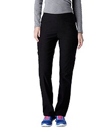 e5a20f949db HEALTH PRO Women s Slip-On Fitted Scrub Pant With Cargo Pockets ...