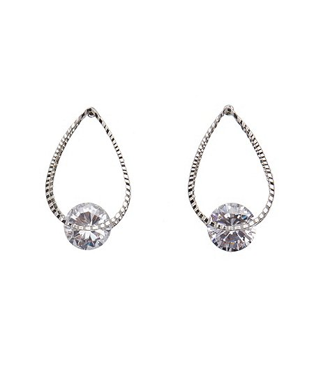 Sung Alfred Oval Stone Earring