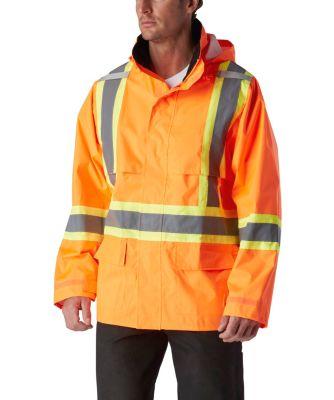 Men's Viking Safety Maxx 150 Rain Jacket ORANGE Small / Regular