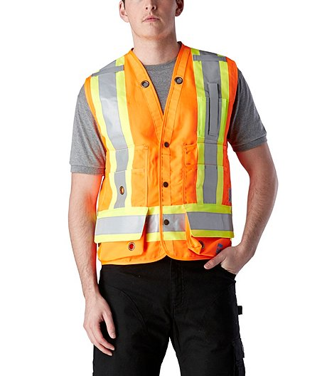 4251352066cac Open Road Men's Surveyors Safety Vest