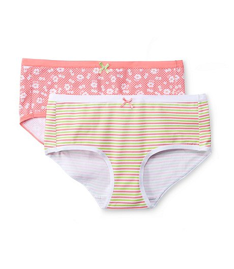 f208a690730 Denver Hayes Women s 2-Pack Perfect Fit Cotton Stretch Hip-Hugger