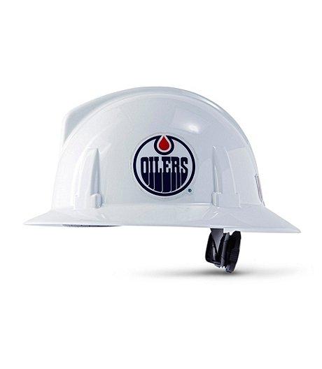 MSA Topguard NHL Edmonton Oilers Hard Hat fbff5d93dd2