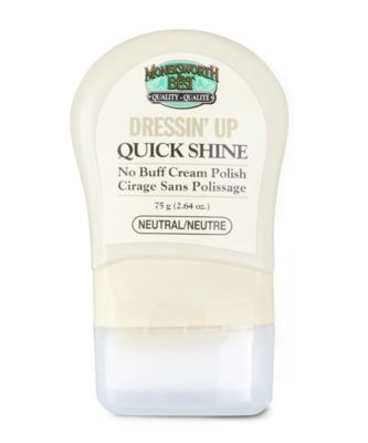 Men's Moneysworth & Best Dressin' Up Quick Shine Neutral No Colour One Size