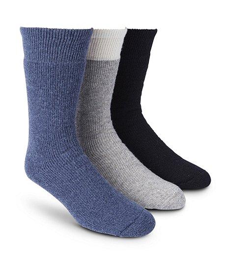 a4c5a5c608241 WindRiver Men's 3-Pack Below Zero Socks