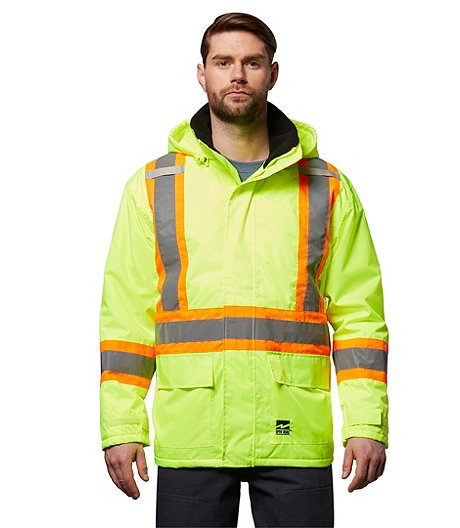 Men's Hi-Vis Insulated Ripstop Jacket