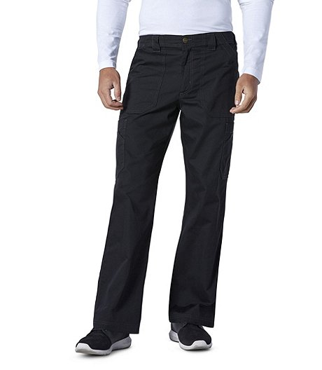 Men's Ripstop Multi-Cargo Scrub Pants