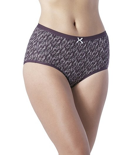 d009e2bab90b Denver Hayes Women's 2-Pack Perfect Fit Cotton Stretch Modern Briefs