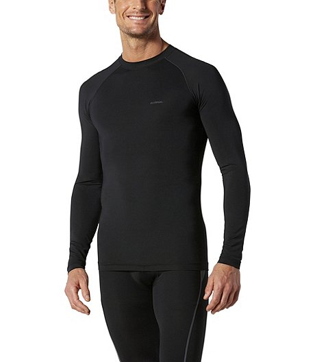 Men's Performance Long Sleeve Raglan Crew Neck Top