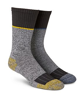 Carhartt Men's 2-Pack Force Crew Work Socks