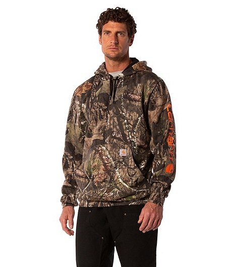 228cb7414 Carhartt Camo Mid Weight Hooded Sweatshirt