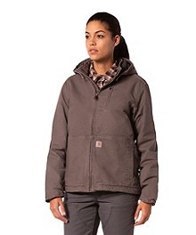 7047cf8ab Men's Duck Arctic Lined Bib Overall · Carhartt Women's Full Swing Caldwell  Jacket ...