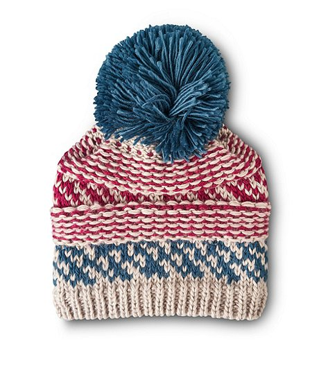 Denver Hayes Knit Fleece Lined Toque With Pom 11f81ae4ec6