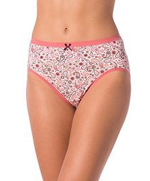 ba322488f Denver Hayes Women s 2-Pack Perfect Fit Hi-Cut Panties ...