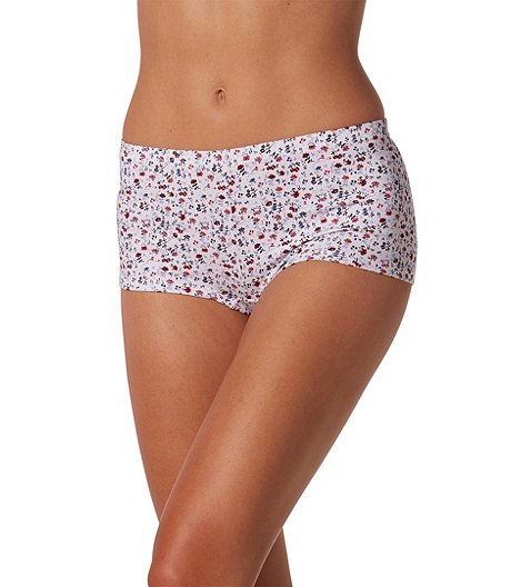 Denver Hayes 3 Pack Cotton Stretch Boyshort Panties a74ee266362