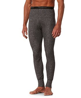 WindRiver Men's 2 Layer Thermal Pants with Merino Wool